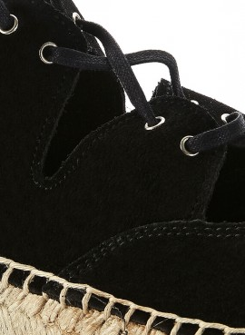 Zapatos Espadrilles | Kara Negro | LA VALETA